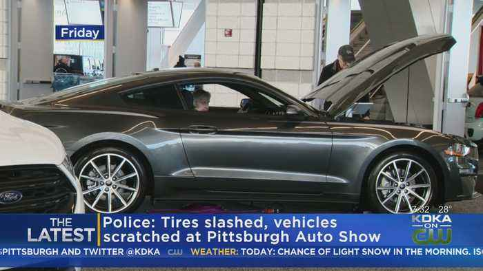 Police: Tires Slashed, Vehicles Scratched At Pittsburgh Auto Show