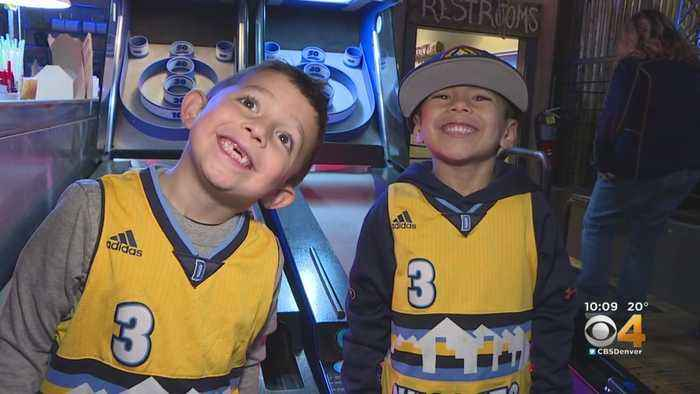 Denver Nuggets Fans Attend Watch Party