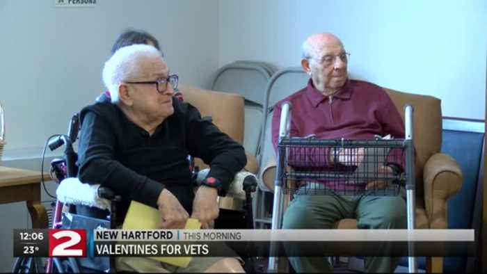 Love continues in New Hartford as part of Brindisi's 'Valentine's for Vets' program