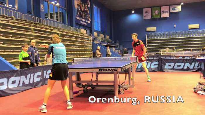 Competitive Table Tennis Matches from All Over the World