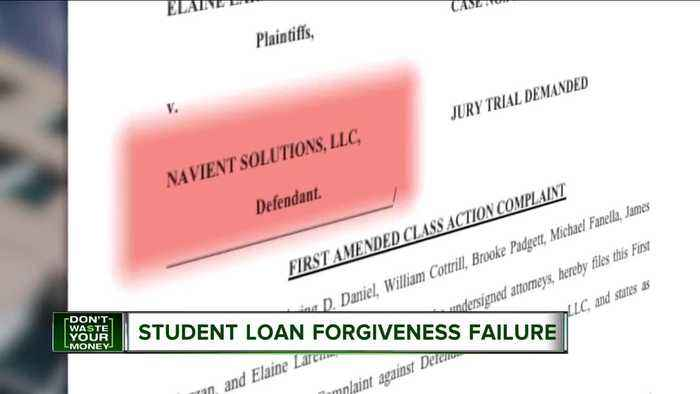 Federal government not forgiving student loans for Americans working in public service for a decade
