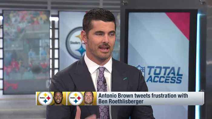 Would you want Pittsburgh Steelers wide receiver Antonio Brown on your team? NFL Network's Reggie Wayne: I don't know if he's 'w