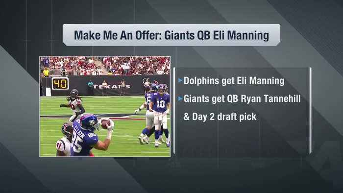 Trade fits: How New York Giants quarterback Eli Manning ends up with the Miami Dolphins