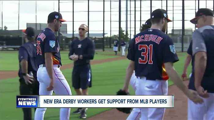 MLB players sticking up for New Era Derby plant workers