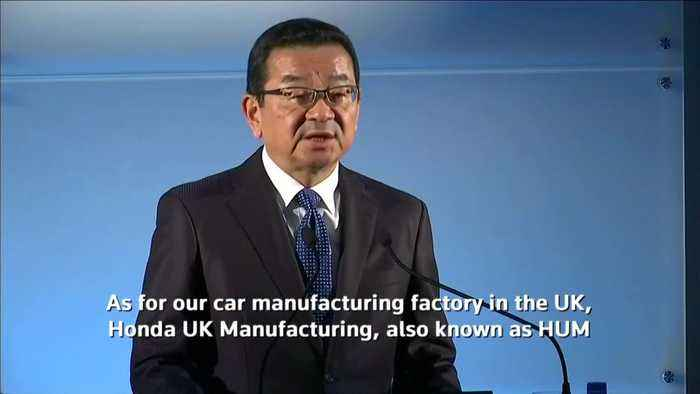 Honda confirms decision to close its only British car plant