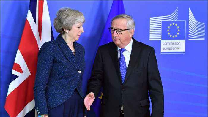 Theresa May's Spokesman Says Juncker Meeting An Important Step In Brexit Process