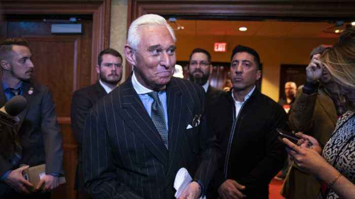 Roger Stone Apologizes to Judge for Controversial Post