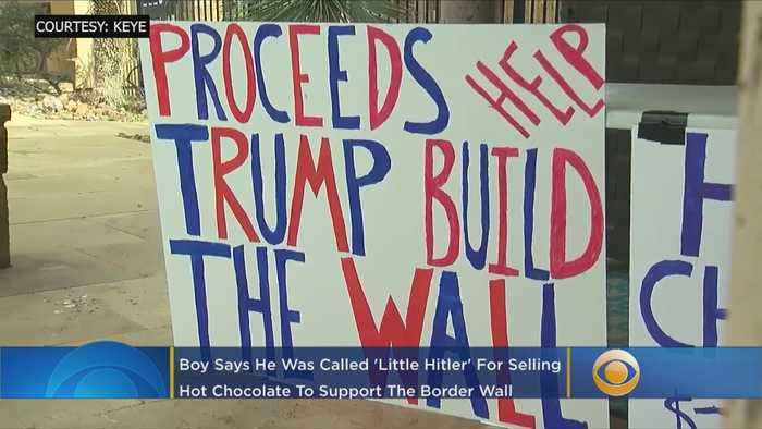Boy, 7, Called 'Little Hitler' For Selling Hot Chocolate To Raise Money For Border Wall