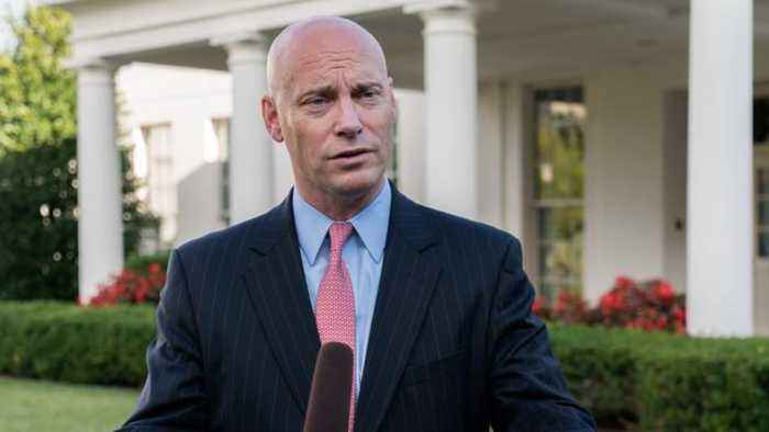 Marc Short Named As Pence's New Chief Of Staff
