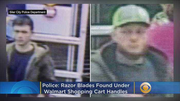 Police: Razor Blades Found Under Walmart Shopping Cart Handles, Two Injured