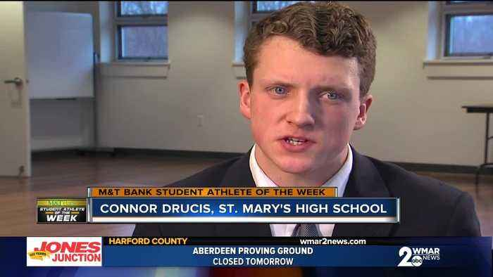 Student Athlete of the Week: Connor Drucis