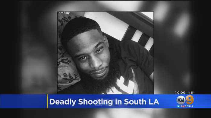 South LA Man Shot And Killed In Possible Gang Initiation