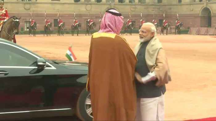 Saudi Crown Prince begins India trip under shadow of Kashmir attack