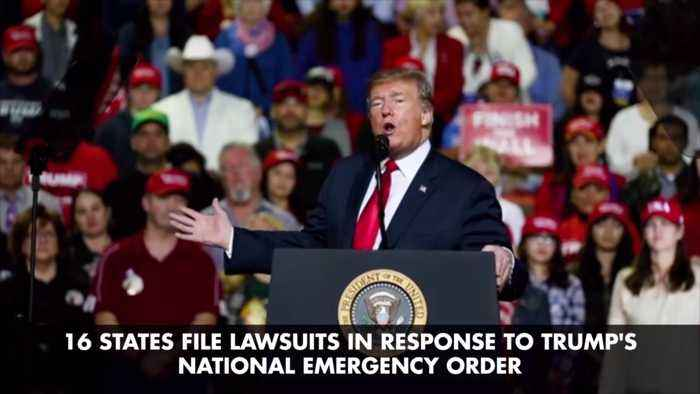 States File Lawsuits Against Trump Over Emergency Declaration