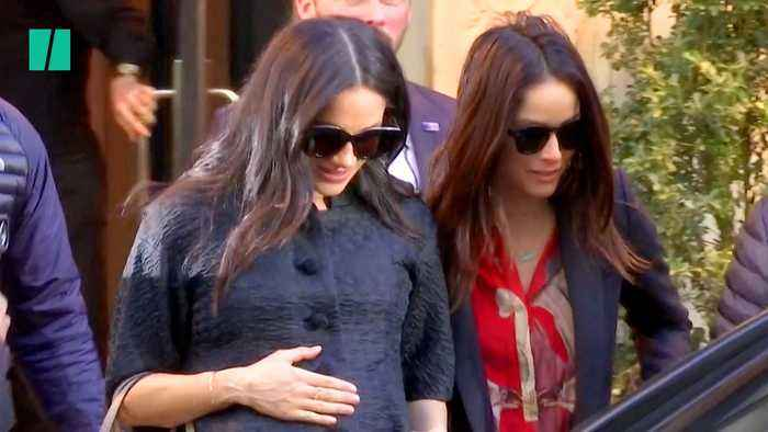 Meghan Markle Visits New York For Reported Baby Shower