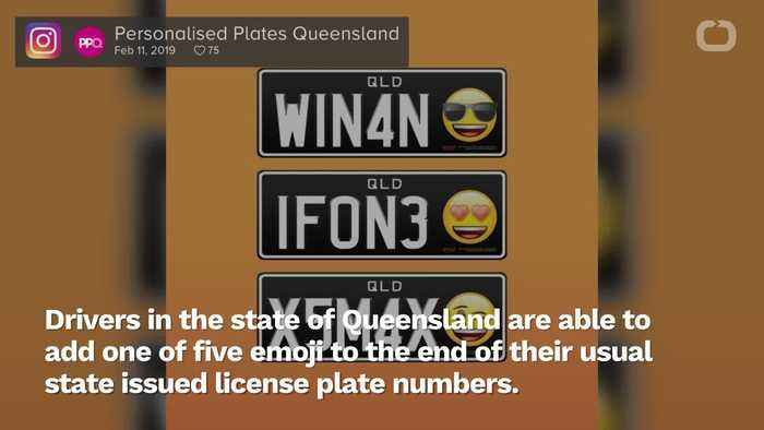 Australia Is Letting People Use Emojis On Their Car License Plates