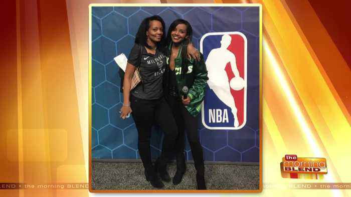 Chatting with Bucks Host Melanie Ricks after All-Star Weekend