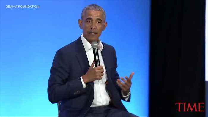 Barack Obama Manages to Work in Michelle Obama in a Discussion About 'Being a Man'