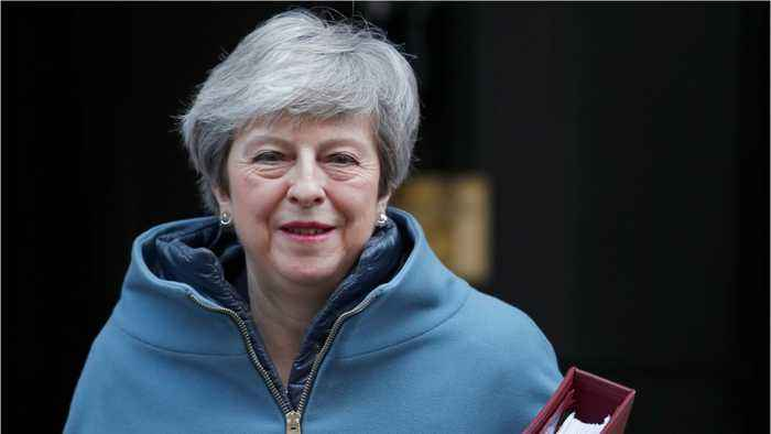 PM May In More Brexit Talks