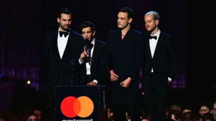 Best British album won by The 1975 as they also pick up best group