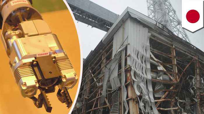 Japan utility uses robot to make 1st contact with Fukushima fuel