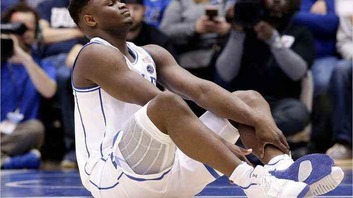 Zion Williamson Injured After Shoe Breaks
