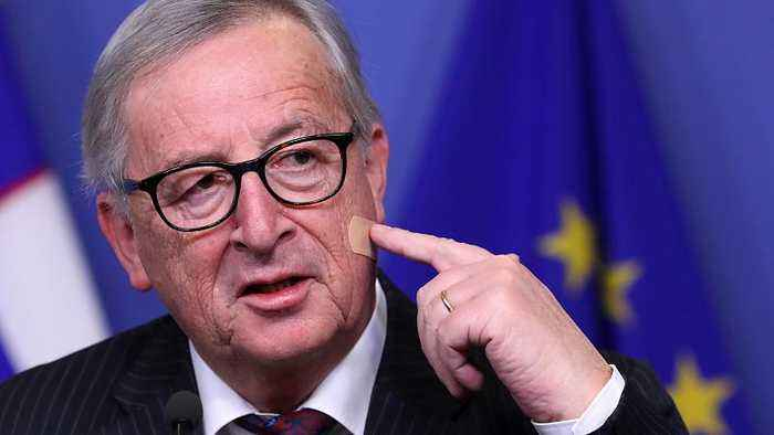 EU Commission's Juncker: 'Don't blame May for my injury!'