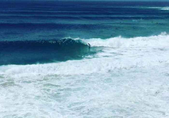 Surfers Ride Big Waves as Cyclone Oma Whips Up Swells in Queensland
