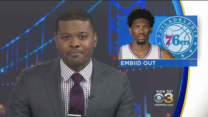 Sixers Joel Embiid To Miss At Least 1 Week With Knee Soreness