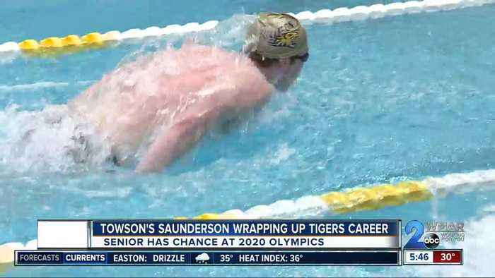 Saunderson wrapping up Towson career, eyeing Olympics