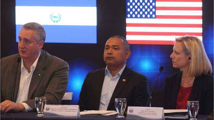 U.S., Central America Announce Plan To Crack Down On Human Trafficking