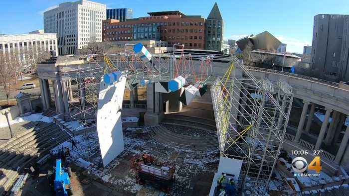 Heart Of Denver Prepares For First Ice Climbing Wall