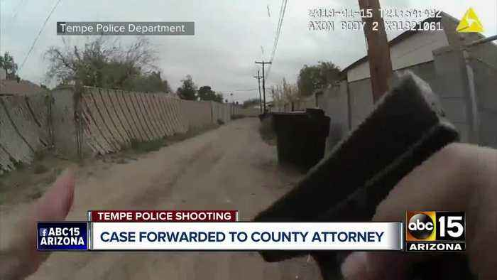 Fatal Tempe police shooting of teen sent to county attorney