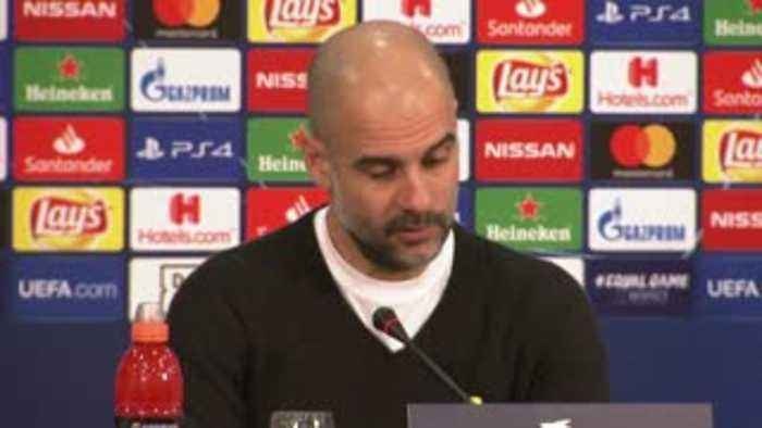 Pep: We're not ready to challenge for CL