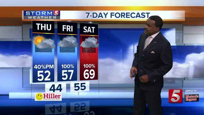 Lelan's early morning forecast: Thursday, February 21, 2019