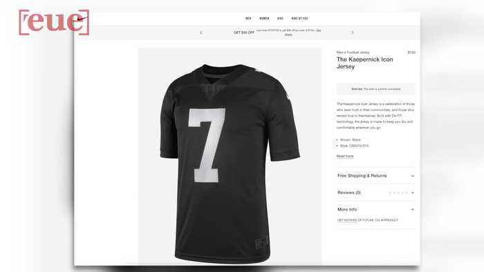 Nike Debuts Colin Kaepernick 'Icon' Jersey; Sells Out Within Hours