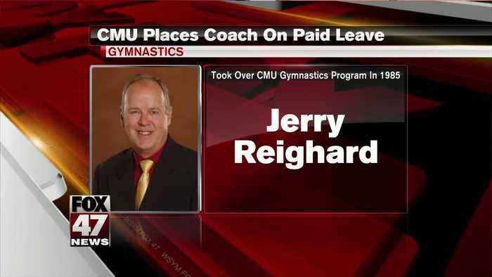 CMU places gymnastics coach on leave