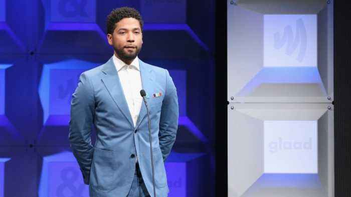 Smollett Arrested for Allegedly Filing a False Police Report