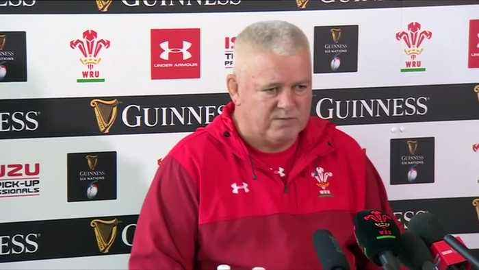 Wales boss Gatland relishes 'big game' against rivals England as he opts for Anscombe at flyhalf