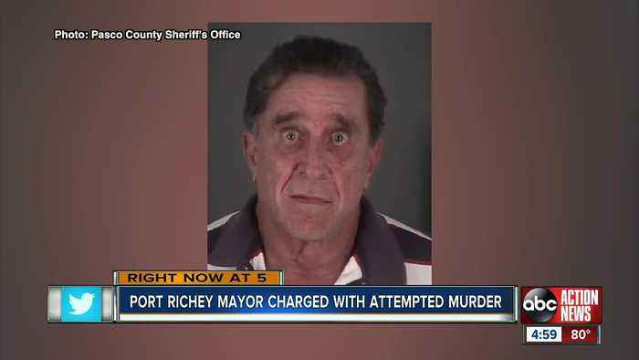 Port Richey Mayor arrested after shots fired at SWAT attempting to serve warrant at his home