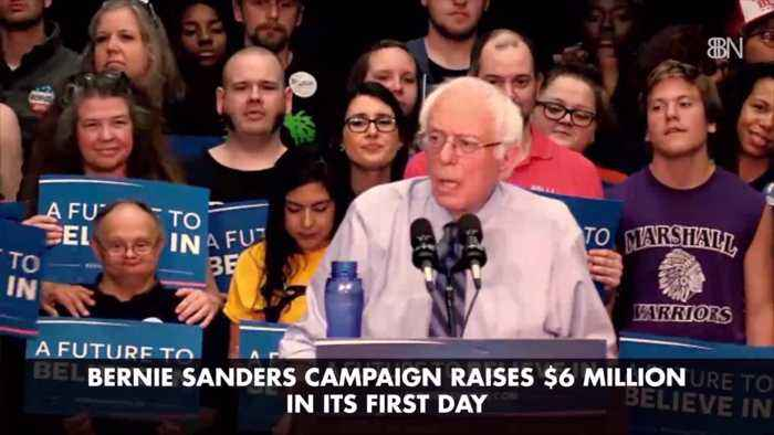 Bernie Sanders Takes In Some Serious Cash On 1st Day Of 2020 Run