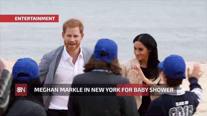 Duchess Meghan Secretly Comes To New York For A Baby Shower