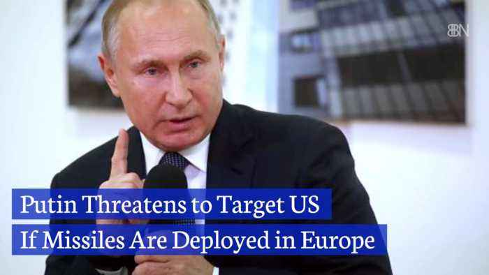 Putin Issues Missile Threat Against the United States