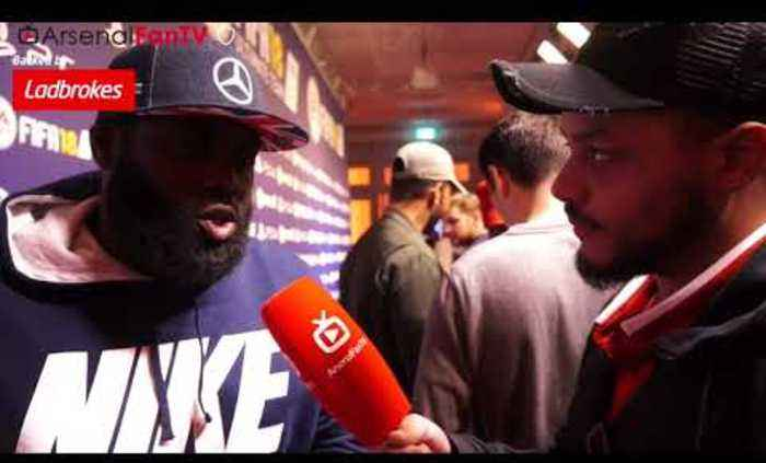 Top Grime Artist P Money Talks Arsene Wenger With Troopz   FIFA 18 Launch Party