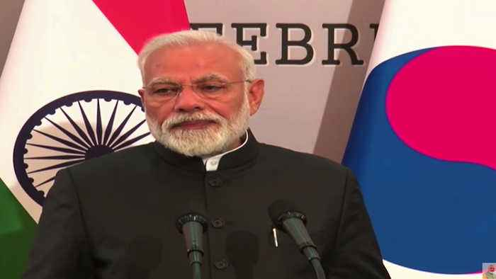 'Time for world to go beyond talks and act on terror': Modi in South Korea