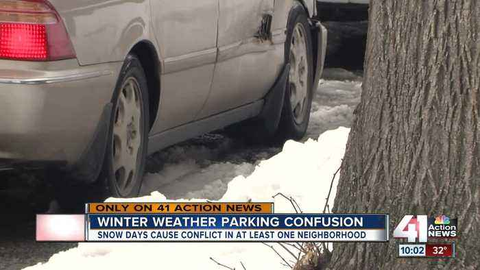 KC residents unsure where to park when it snows