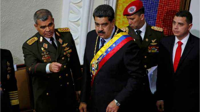 Venezuelan Foreign Minister Says Maduro Will Be Ousted 'Over Our Dead Bodies'