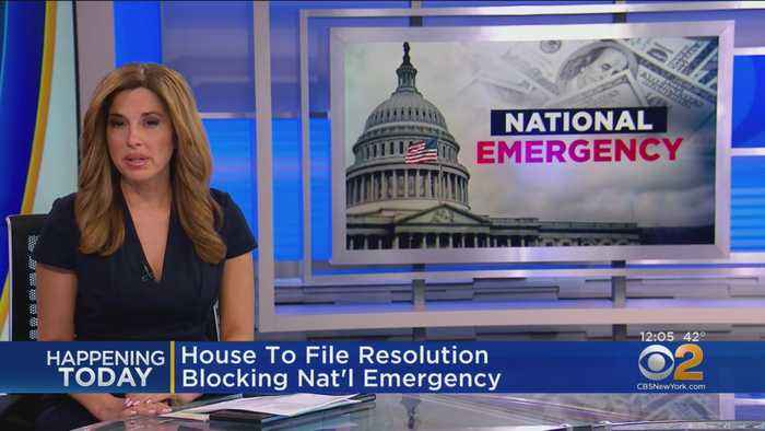House Democrats To File Resolution Blocking Trump's National Emergency