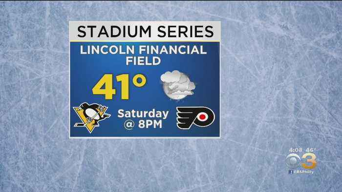 NHL Monitoring Rain That Could Affect Flyers' Outdoor Game