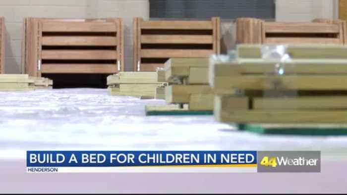 Build-a-Bed Strives to Help Children in Henderson Have a Bed of Their Own